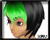 [X]Nanami black/green2