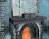 Krampus Fireplace