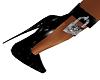 Latex Locked Heels