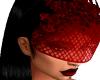 Red Veil Chic