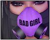 Miyu Mask Purple Black