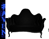 VELOUR COUCH black