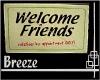 *B Welcome Mat Friends