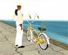 N71 bike gold&silver