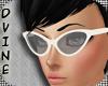 Dvine IvoryRetro Glasses