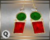 ♛ Christmas Earrings