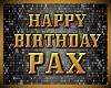 PAX bday balloons