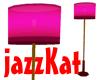 Velvet Club lamp pink