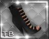[TB] Liza Booties Black