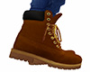 Brown Work Boots 4 (M)
