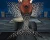 Black Anim Mermaid Tail