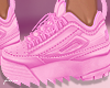 f. pink chunky kicks