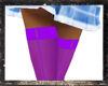 ! Stockings Purple