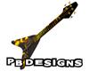 PB Anim Lava Bass Guitar