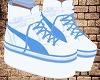 White-Blue Shoes
