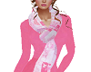 TF* Pink & White Scarf