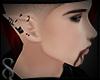 -S- Vampire Ears Pierced