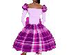 Rosie's purple plaid
