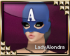 Mss Capitan America Mask