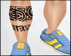 Maori Leg tattoo 'R