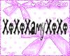 XoXoXAmyXoXo Nametag