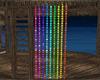 Rainbow Bead Curtains