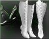 ~D~ White PVC Boots