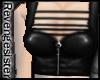 ; Leather BikerGirl Vest