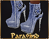P9)Trendy Blue Boots