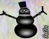 Coal Snowman