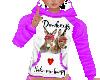 flat donkey hoodie