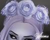 Ghost Bride Hair Flowers