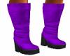 Light Purple Tall Boots
