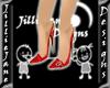 {JJ} Slingbacks Red