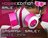 ME|GasMask|White/Pink