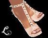 xo*Pink & Gold Heels
