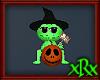 Halloween Frog w/Punkin