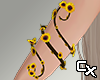 Sunflower Arm Vine R