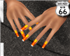 SD Candy Corn Nails