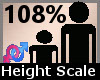 Scale Height 108% F A
