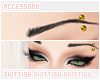 ≡ Brow Piercing |Gold