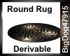 [BD] Round Rug