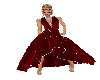 Red Diamond Evening Gown