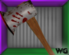 Bloody Axe in Wall Furni