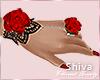 [C] Hand Roses L/R