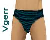 Green Striped Sexy Trunk