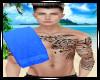 Blue Towel - Men Flipped