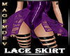 LACE SKIRT PURPLE