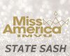 Miss New York Sash