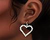 ( valentine earrings )